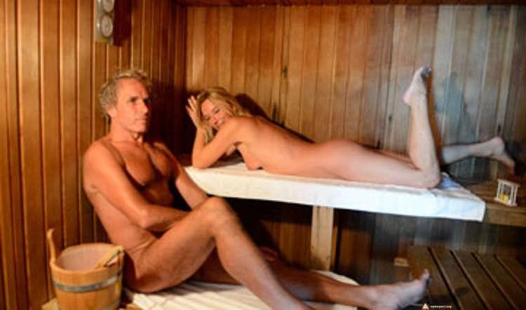 Sauna na kempingu dla naturystów we Francji