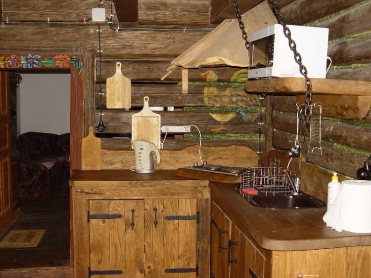 Chata dla naturystów w Osada Bieszczady - kuchnia