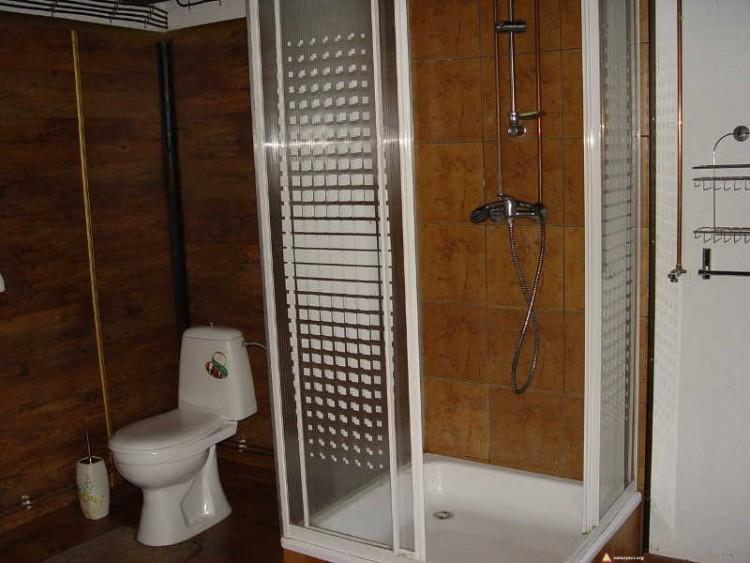 Osada Bieszczady - prysznic