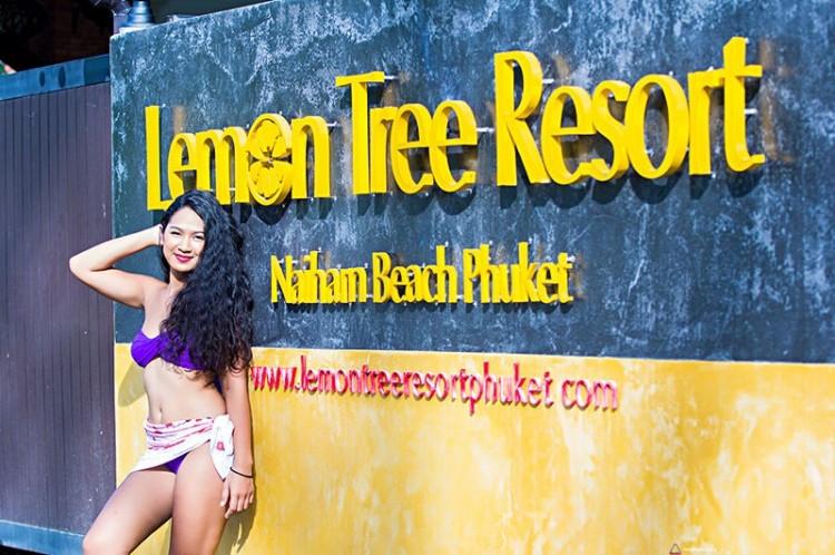 Wejście do ośrodka nudystów w Tajlandii